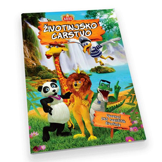 KRAS Animal Kingdom Sticker Album