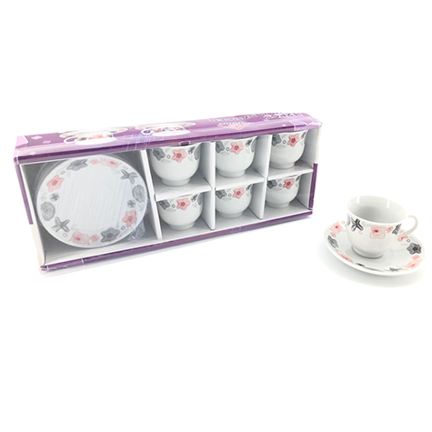 Coffee Service Set 12pc 90ml YX-1