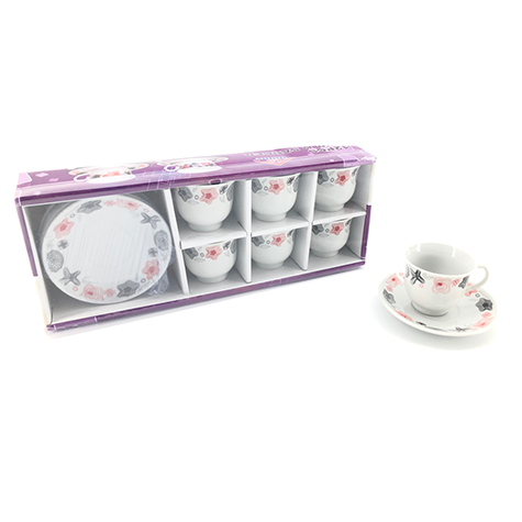 Coffee Service Set 12pc 90ml YX-5