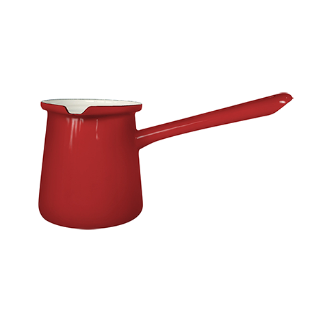 Enamelie Dzezva Coffee Pot 9cm Freja Red 6pcs