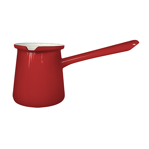 Enamelie Dzezva Coffee Pot 11cm Freja Red 6pcs