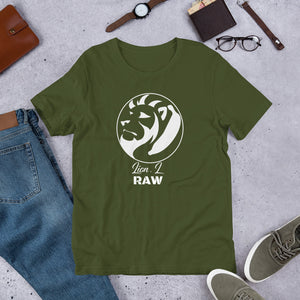 Short-Sleeve Unisex Lion.L Raw T-Shirt