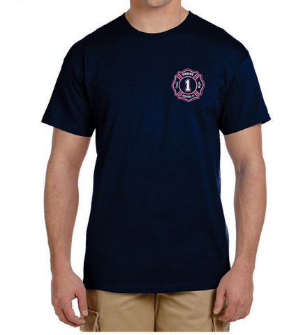 Engine 1 Breast Cancer Awareness Shirt