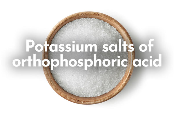 Potassium salts of orthophosphoric acid