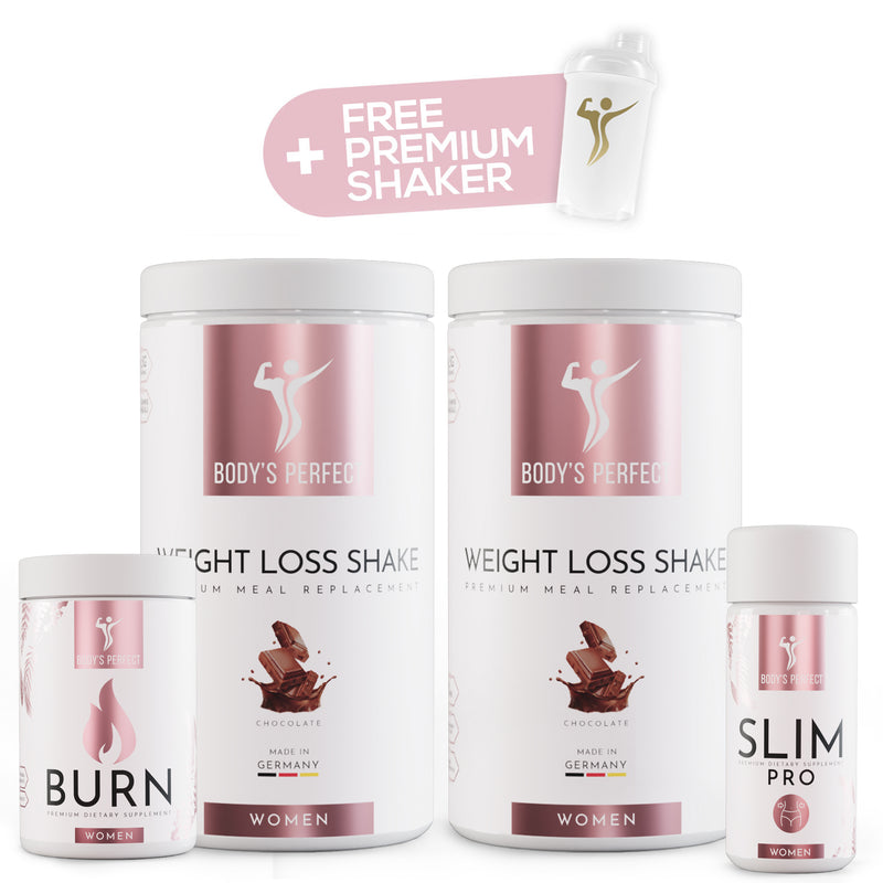 Weight loss package PLUS for women  - Body\'s Perfect GmbH