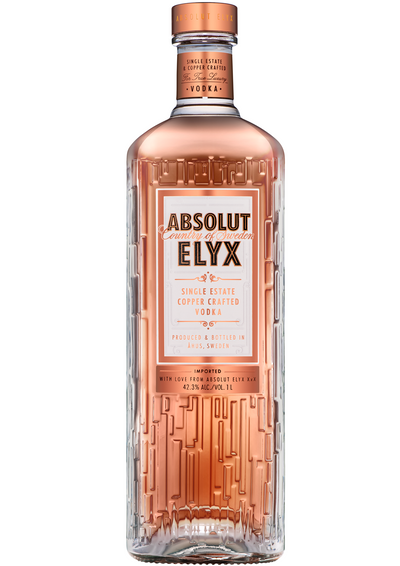 ELYX vodka Full bodied, luscious silky mouthfeel with waves of rich macadamia nuts, creamed cereal and garnishes of white chocolate and buttery notes of freshly baked bread. Light fresh nuttiness with a well-balanced hint of mellow spice and pure balanced richness.