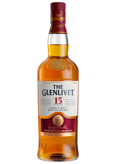 Scotch Whisky Malt Glenlivet 15 Years French Oak Reserve