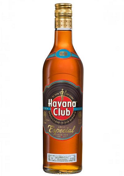 Havana Club Anejo Especial a premium golden rum with a smooth finish, made and double aged in Cuba to make the ultimate Cuba Libre.