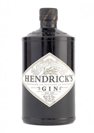 Gin Hendricks - Launched in 1999, Hendrick's is a popular and widely available Scottish gin. It is distilled at the Hendrick's Gin Palace in the grounds of Girvan Distillery in Scotland.