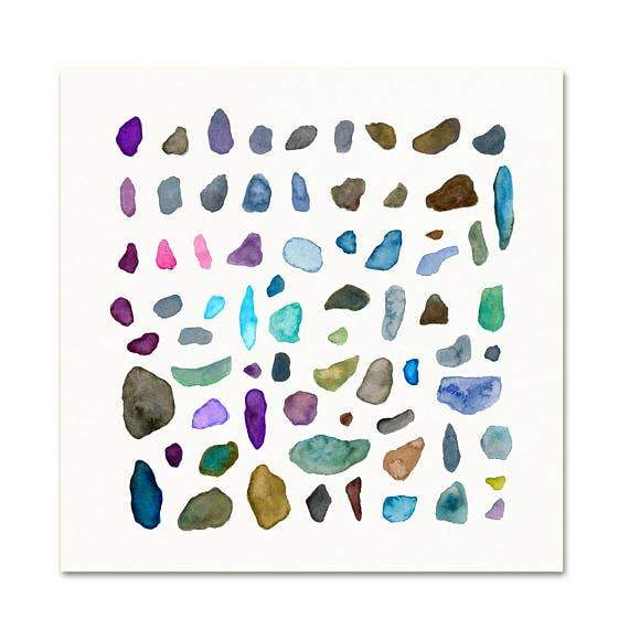 Rock Collection #3 art print Snoogs & Wilde Art