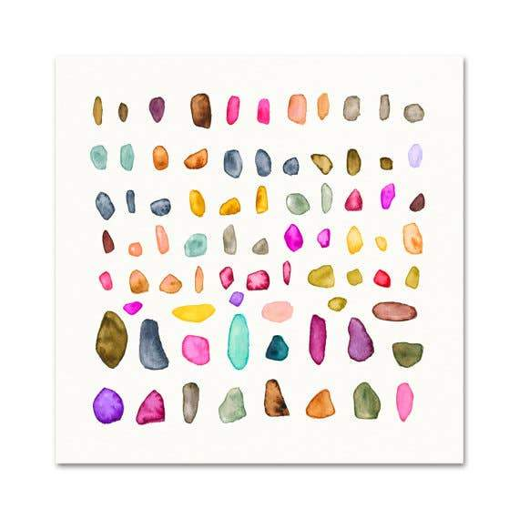 Rock Collection #1 ~ Art Print Snoogs & Wilde Art