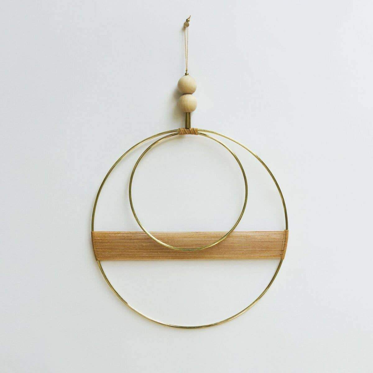 Double Circle Wall Hanging Attalie Dexter