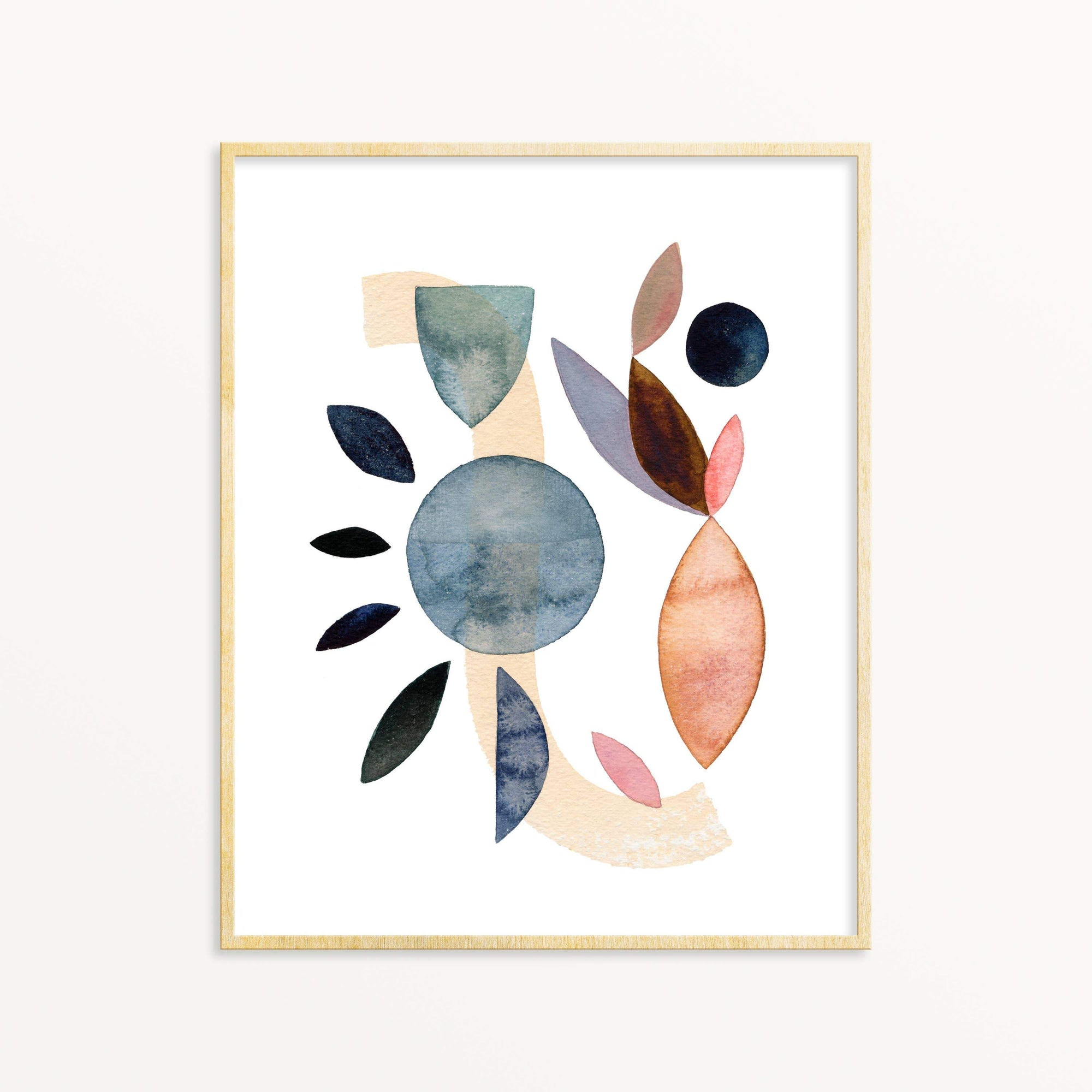 Earth & Sky No. 9 art print Snoogs & Wilde Art