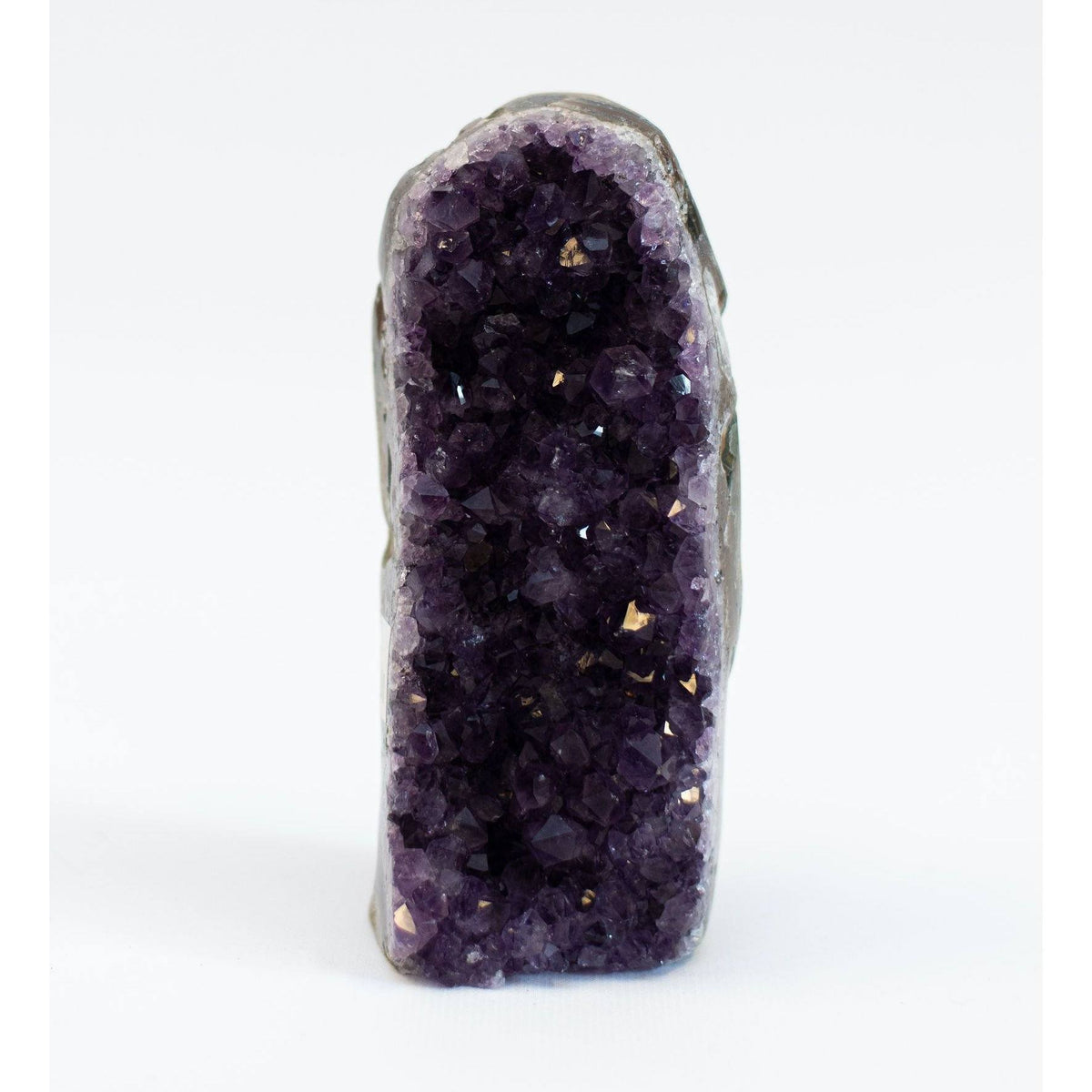 Amethyst Geode stone Virgo + Garnet | Beautifully Balanced Living