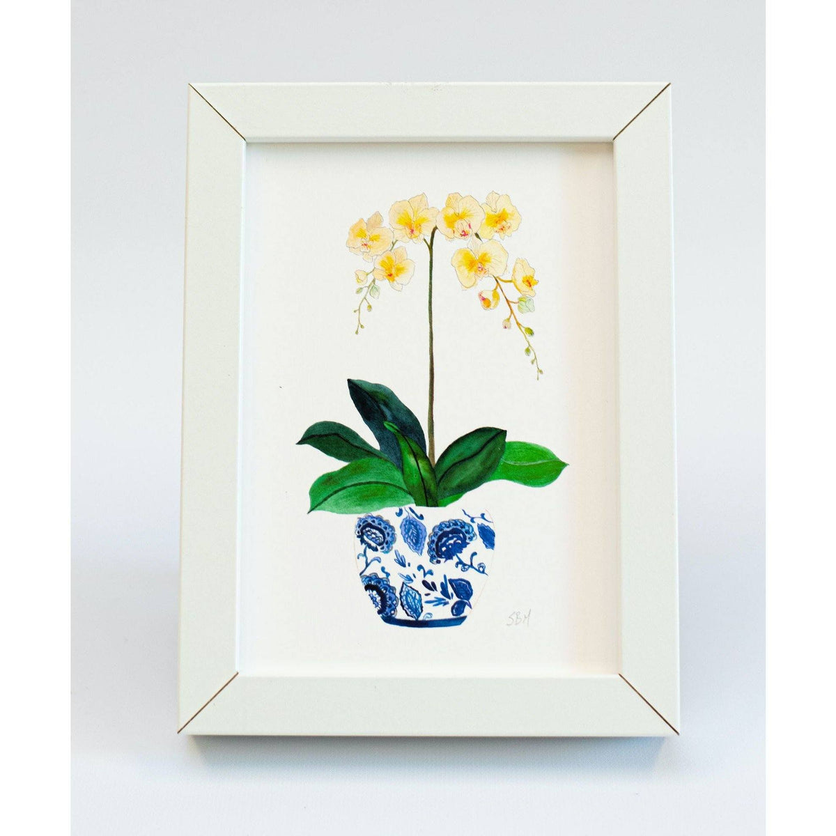 Ginger Jar Orchid #3 art print Snoogs & Wilde Art
