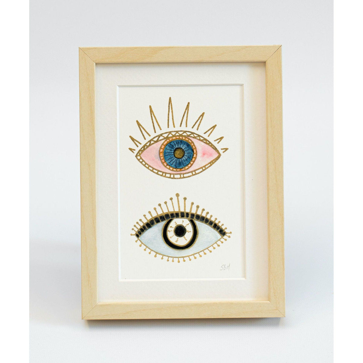 Evil Eye #8 art print Snoogs & Wilde Art