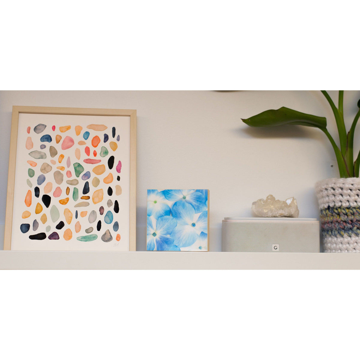 Rock Collection #4 art print Snoogs & Wilde Art