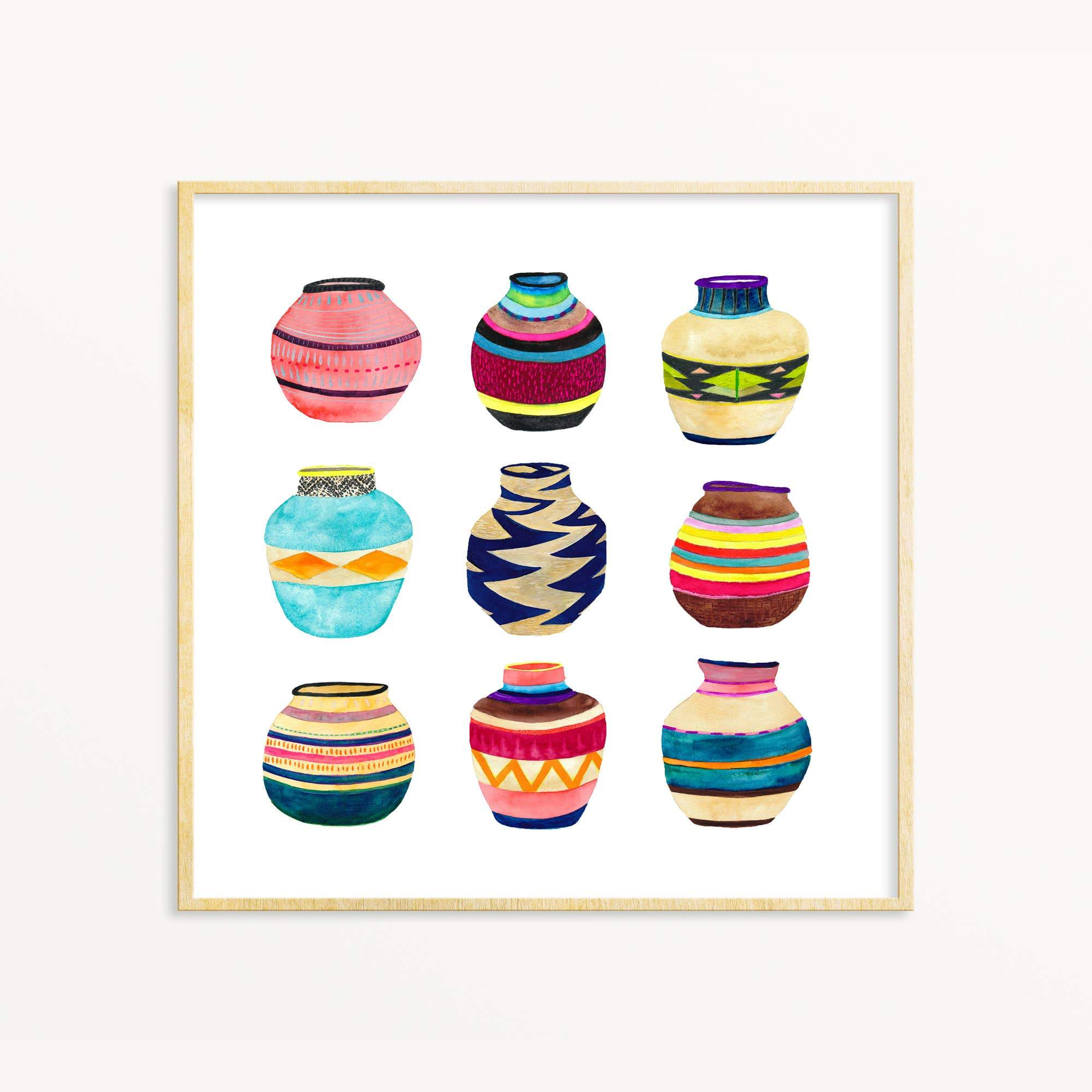 Basket Collection art print Snoogs & Wilde Art