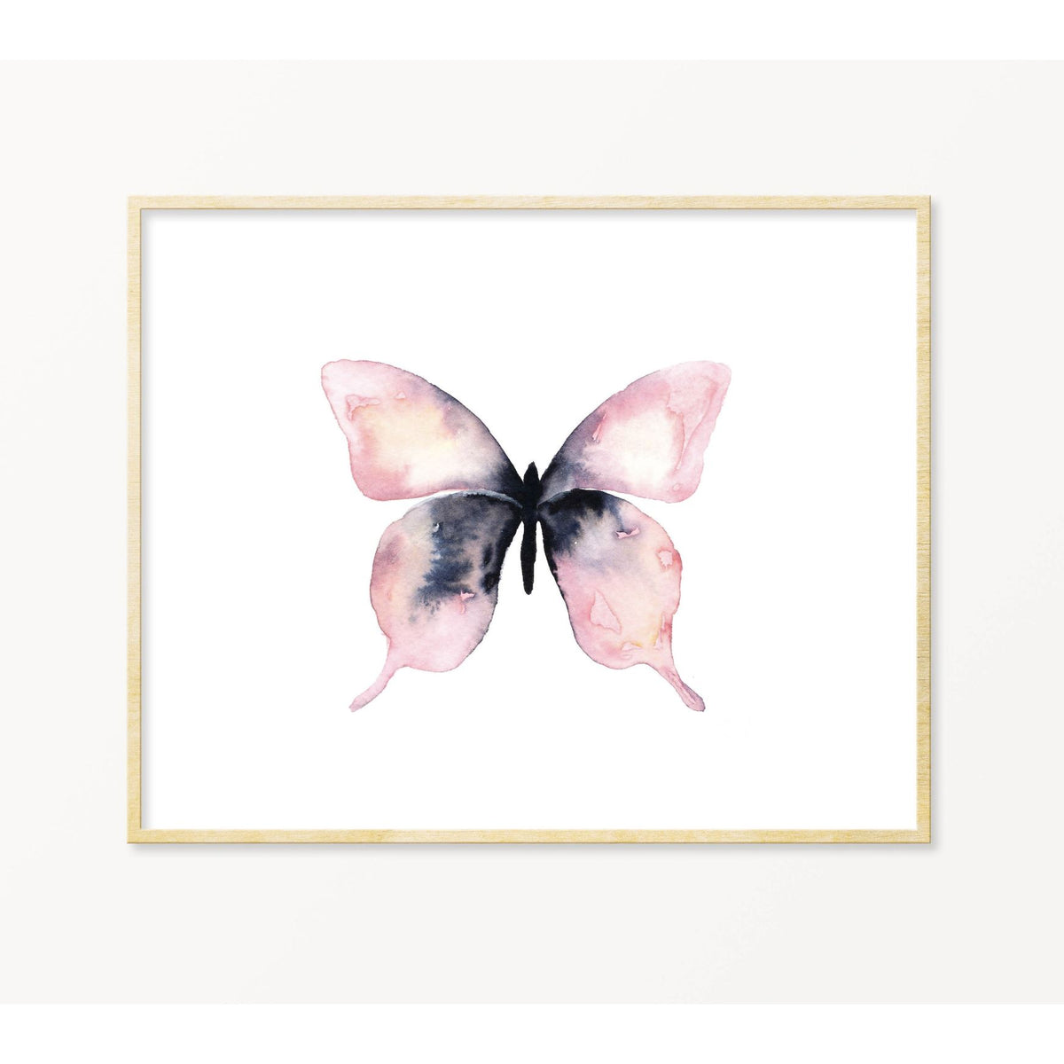 Lone Butterfly 🦋 #9 art print Snoogs & Wilde Art