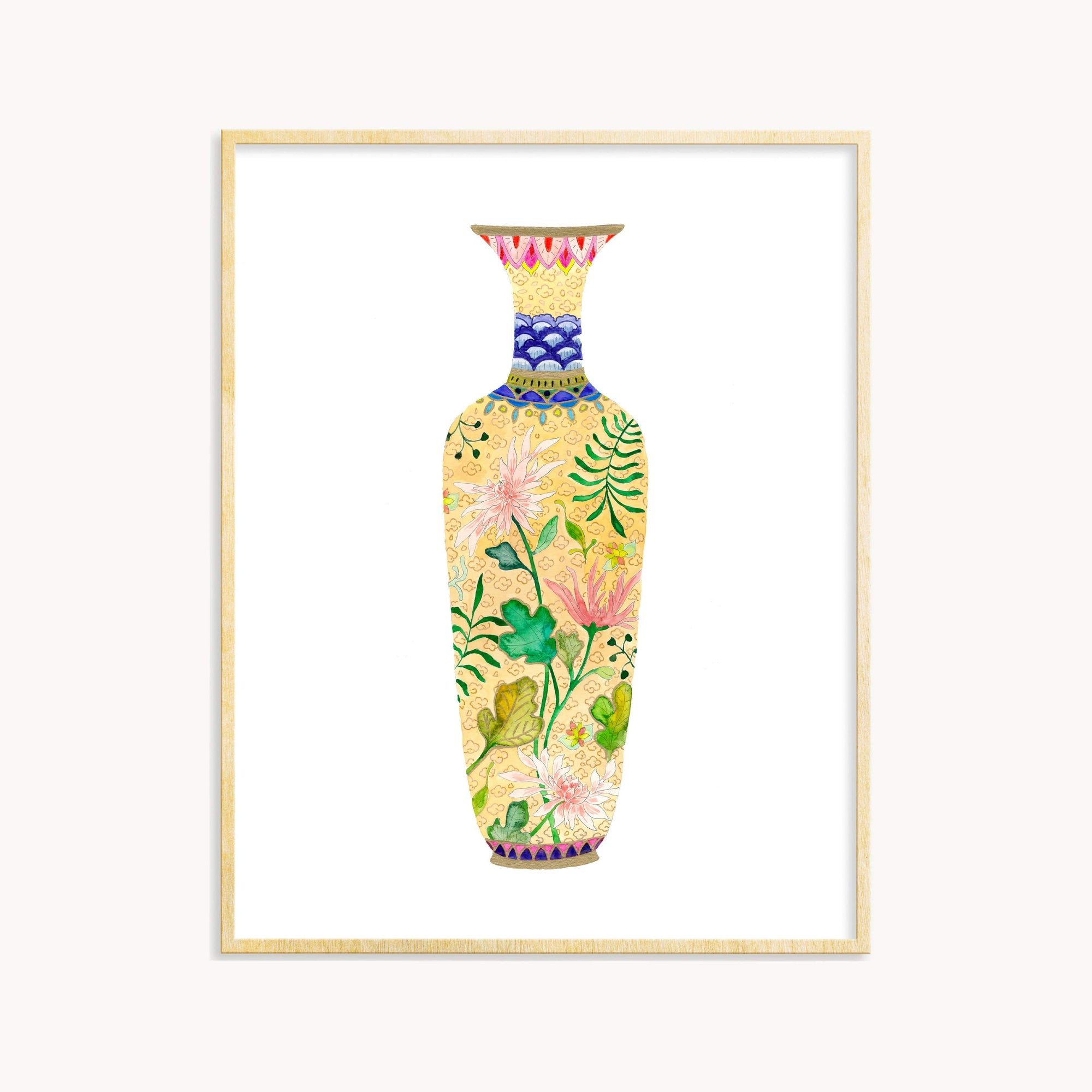 Antique Vase #1 art print Snoogs & Wilde Art