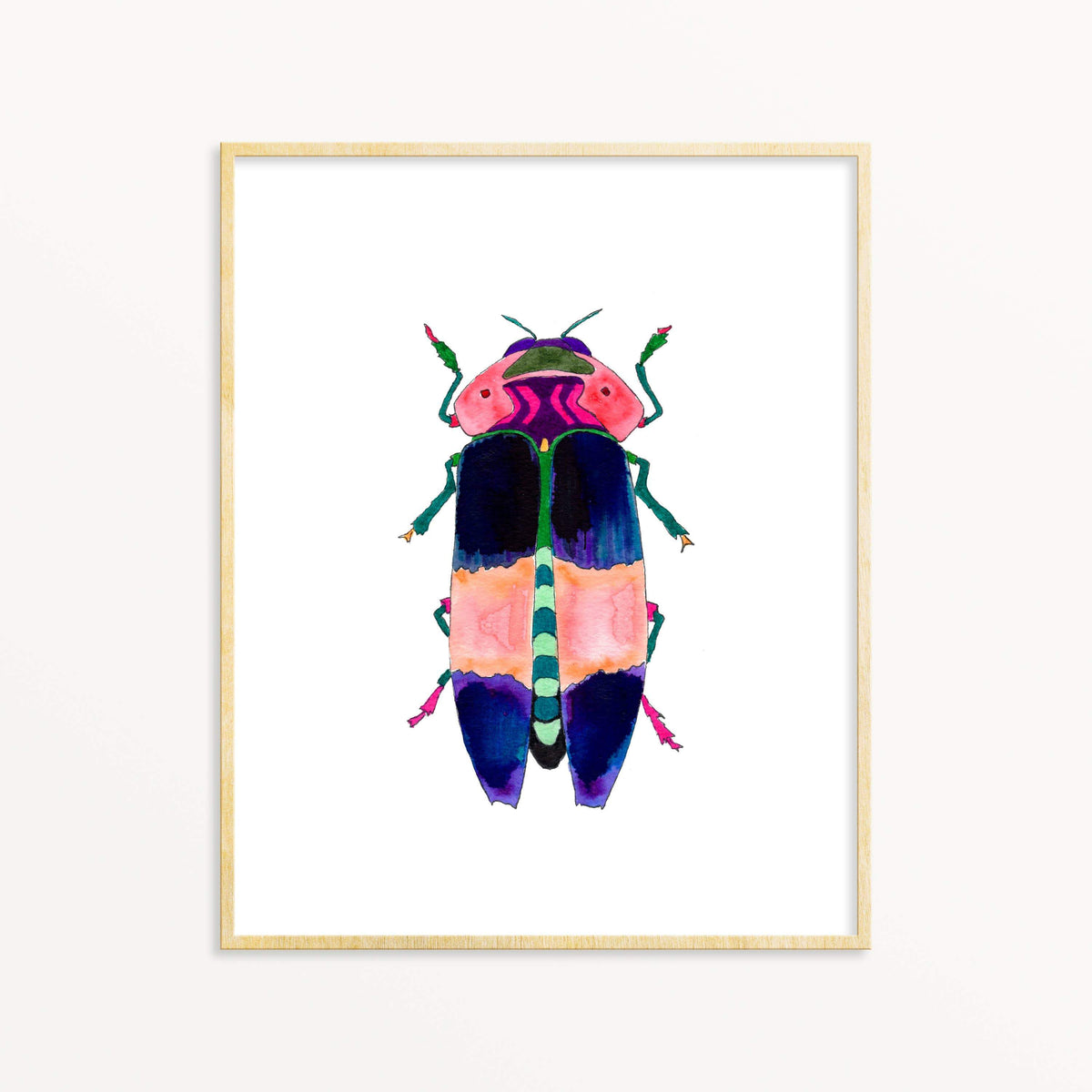 Beetle #1 art print Snoogs & Wilde Art