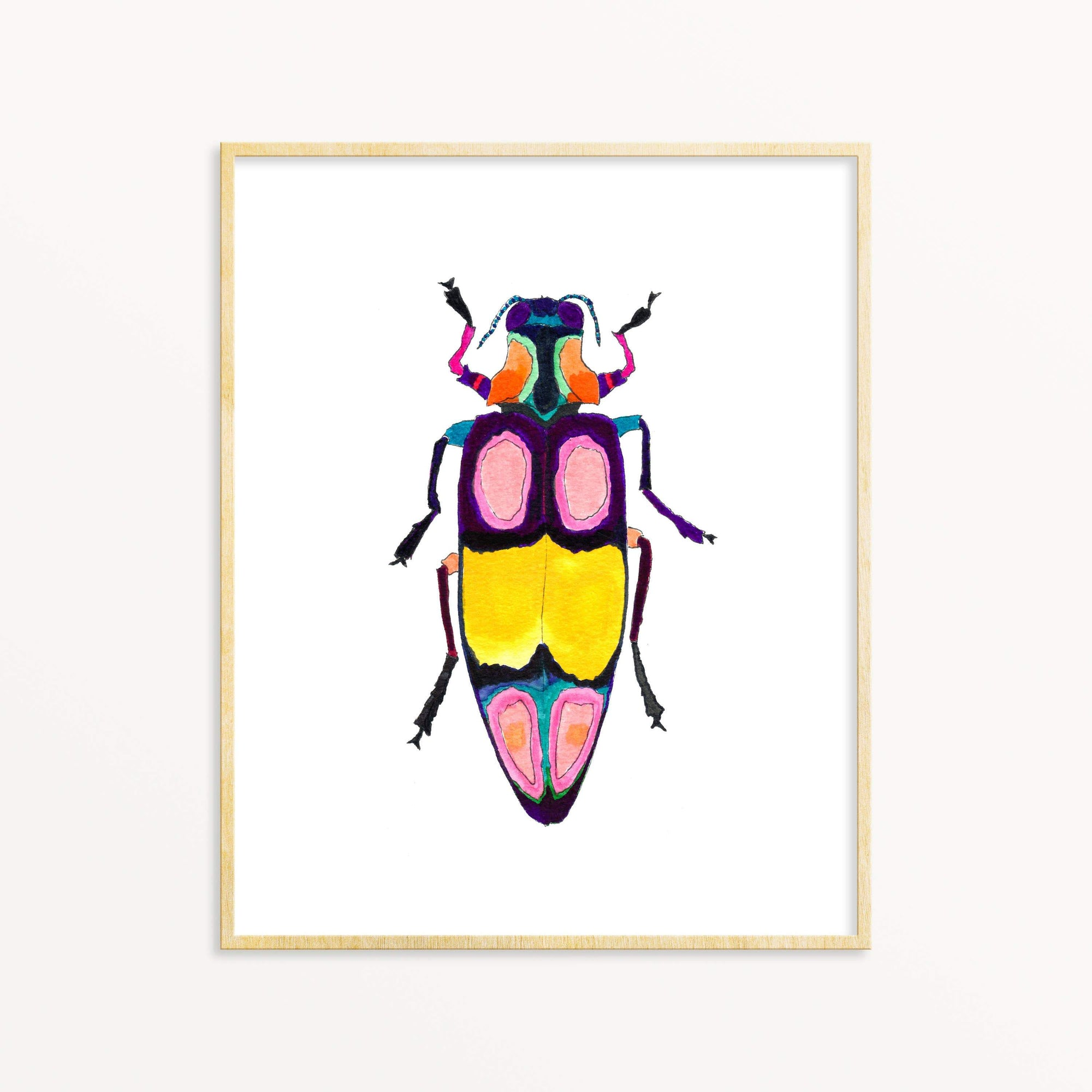 Beetle #2 art print Snoogs & Wilde Art