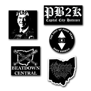 Deathsquad Industries Sticker Pack (5 stickers)