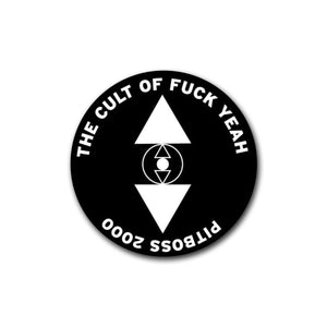 "Pitboss 2000 ""Cult"" Sticker"