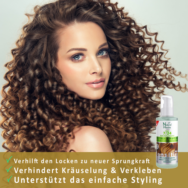 Curl Booster 150ml <br>Leave in Conditioner<br>-Für mehr Glanz & Sprungkraft-