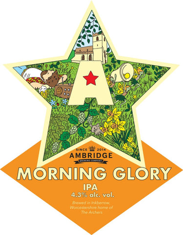 AMBRIDGE BREWERY - 4.3% Morning Glory - 5 LITRE POLYPIN