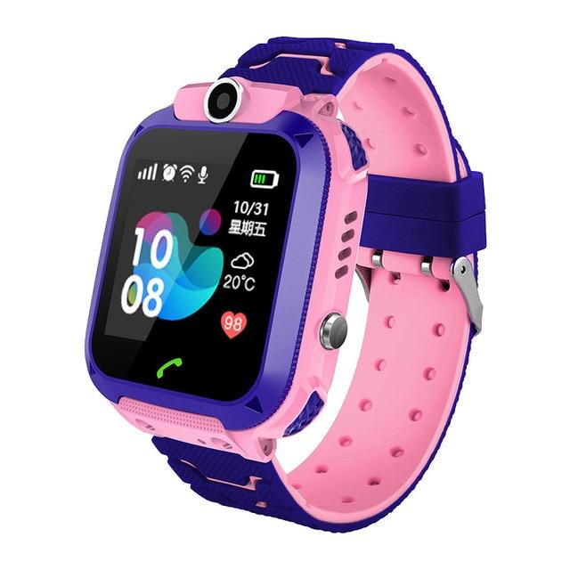 2019 New Smart watch LBS Kid SmartWatches Baby Watch for Children SOS Call Location Finder Locator Tracker Anti Lost Monitor+Box - COMGAT