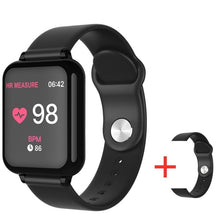 Laden Sie das Bild in den Galerie-Viewer, 696 B57 smart watch IP67 waterproof smartwatch heart rate monitor multiple sport model fitness tracker man women wearable