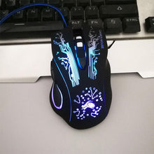 Laden Sie das Bild in den Galerie-Viewer, Professional LED Gaming USB Mouse - COMGAT