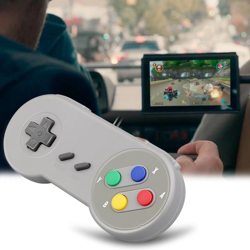 USB Controller Gaming Joystick Gamepad Controller for Nintendo SNES Game pad for Windows PC For MAC Computer Control Joystick - COMGAT