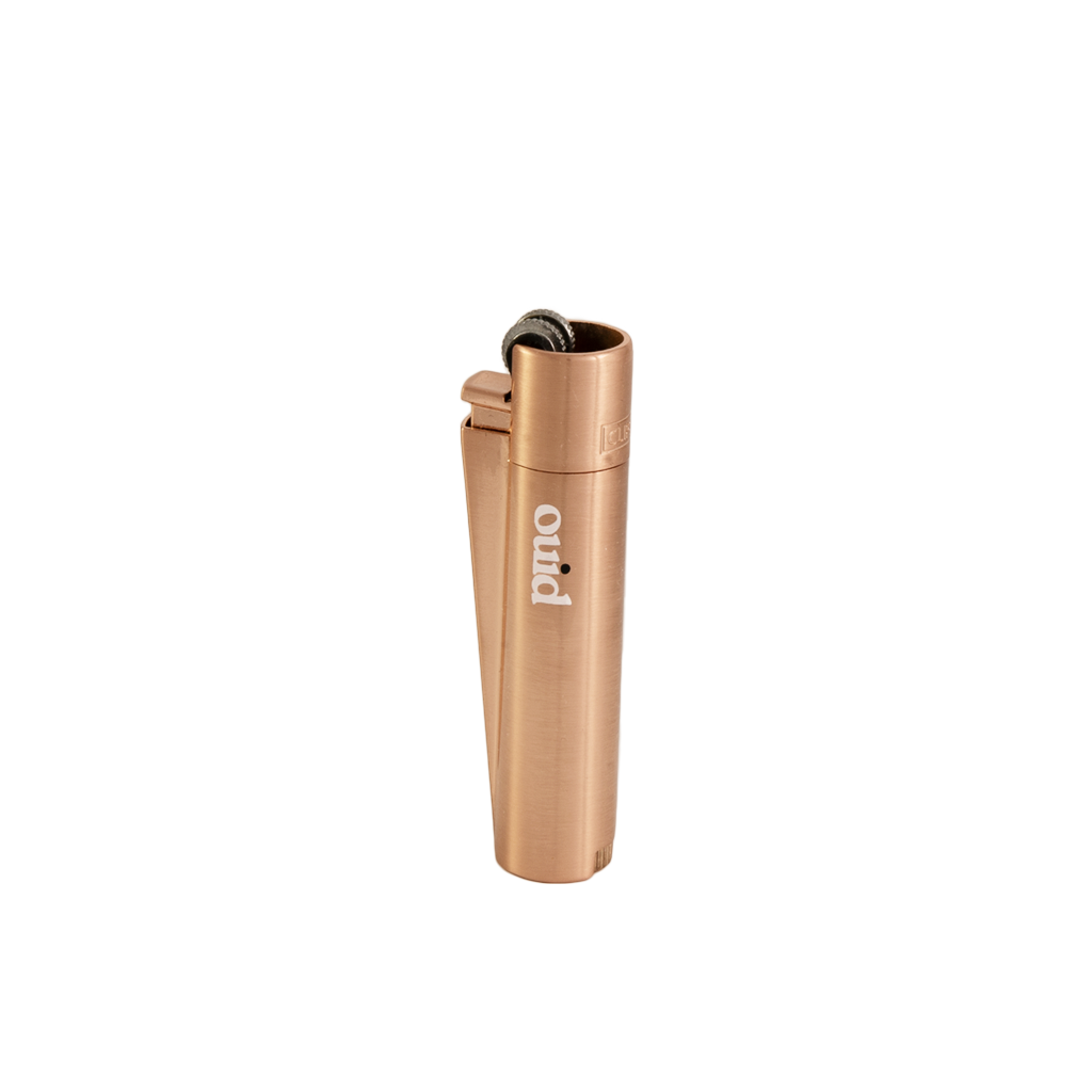 *Limited Edition* Ouid Rose Gold Clipper Lighter