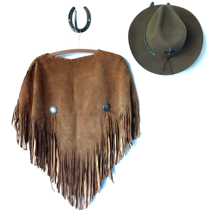 "Poncho ""Carmen Leather"""