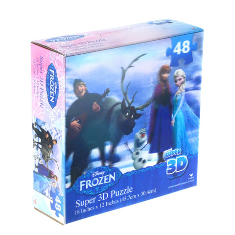 Disney Frozen 48pce Super 3D Puzzle