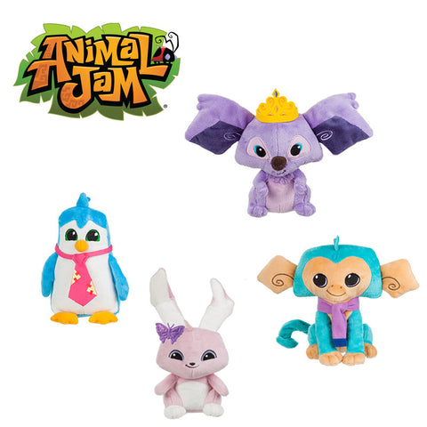 "Animal Jam Plushies 7"" Plush Toy Assorted"