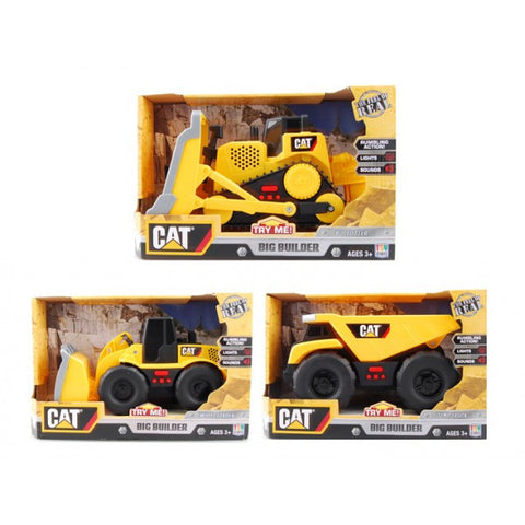 Big Builder CAT Electronic Play Truck Assorted