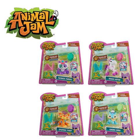 Animal Jam Light Up Friends with Ring Assorted