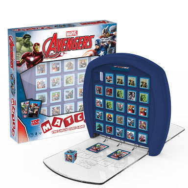 Marvel Avengers Top Trumps Match - The Crazy Cube Game!