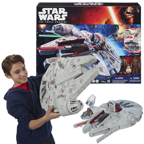 Action Star Wars Large Vehicle Limited Edition Millennium Falcon Playset with Figures