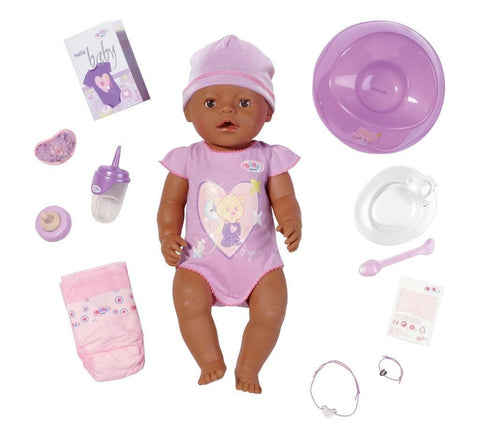 Baby Born Interactive Ethnic Girl Doll