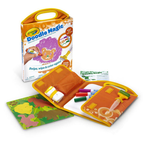 Crayola Doodle Magic Travel Mat Animal Adventure Pack