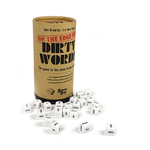 Dirty Words The Fun Party 18+ Dice Game