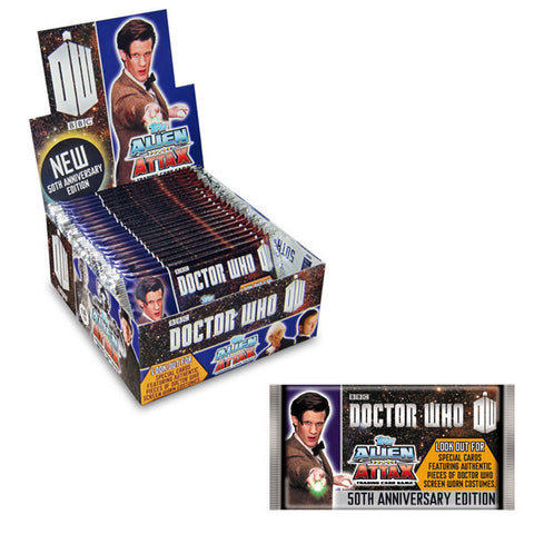 Topps Alien Attax Doctor Who 50th Anniversary Collectors Edition Booster (24 Packs in CDU)