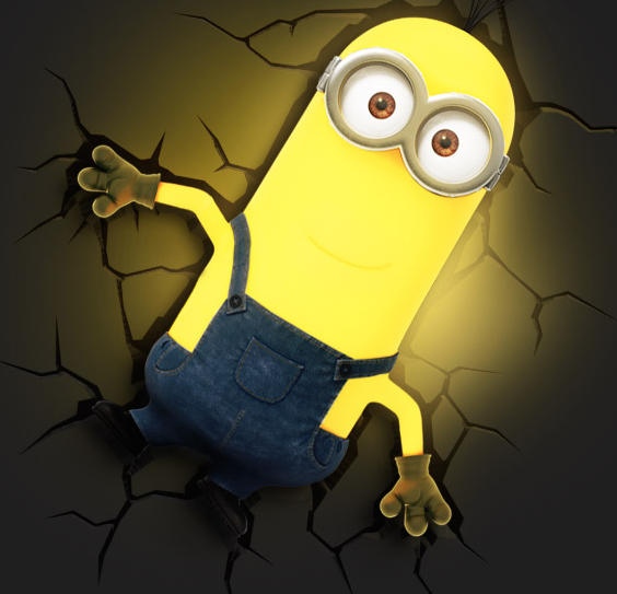 Despicable Me Minion Kevin 3D FX Night Light Toy Store For Kids