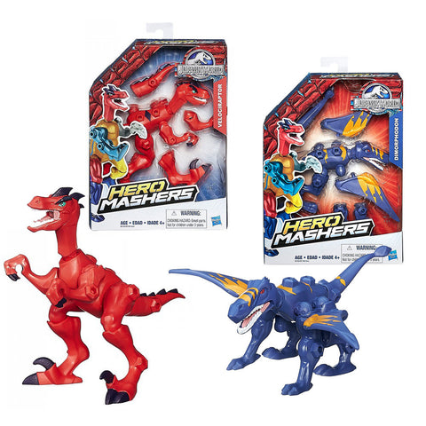 Jurassic World Hero Mashers Basic Dino Dinosaur Figure Assorted