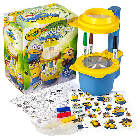 Crayola Minions Sketcher Projector Light Designer