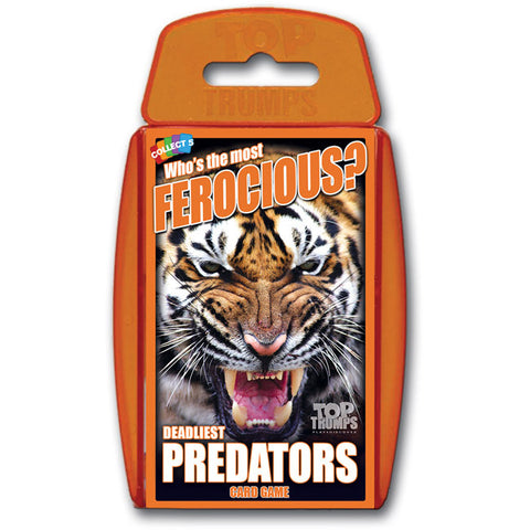 Top Trumps Deadliest Predators Card Game